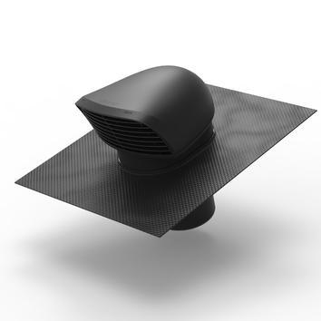 Flex XL sortie en toiture design noir