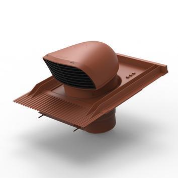 Design-Dachdurchführung für Ziegeldächer terrakottafarben