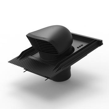 Design dakdoorvoer voor pannendaken zwart