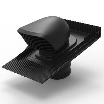 Design-Dachdurchführung XL für Ziegeldächer schwarz