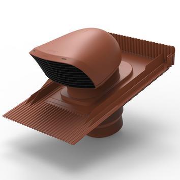 Design-Dachdurchführung XL für Ziegeldächer terrakottafarben